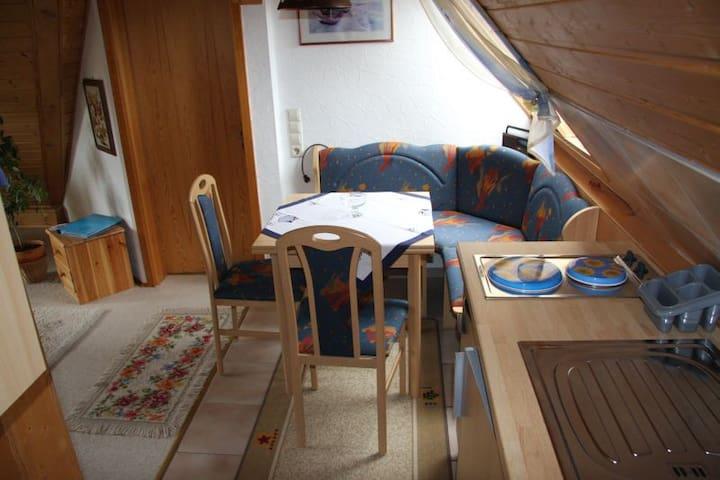 Haus Hölltalblick, (Schönwald), Ferienwohnung, 50qm, 1 Schlafzimmer, max. 2 Personen