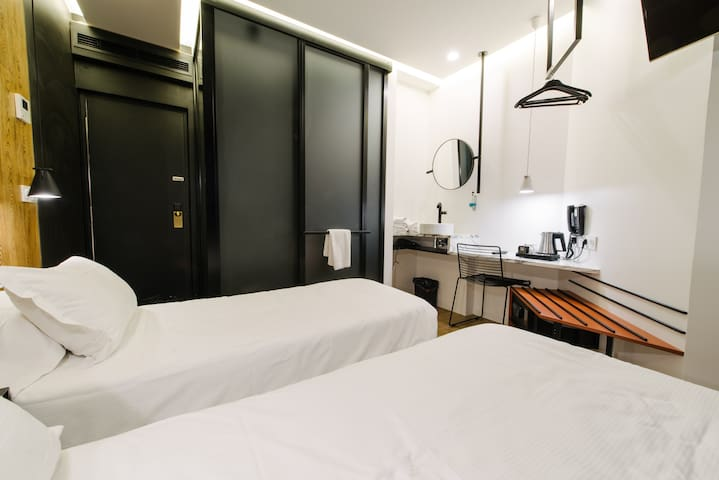 Design hotel room with free access to SPA !