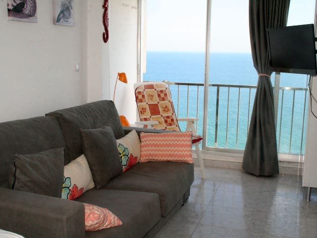 Charming studio on the seafront, you'll love it! - Beach-Palace