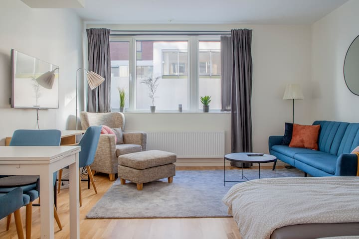 Perfect Apartment in Kungsholmen, 100m from beach
