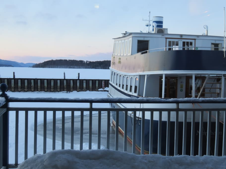 Lake Memphemagog Tour boat, The  Northern Star