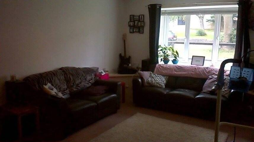 Cozy Stripey Double Room in Flat - Lancaster - Byt