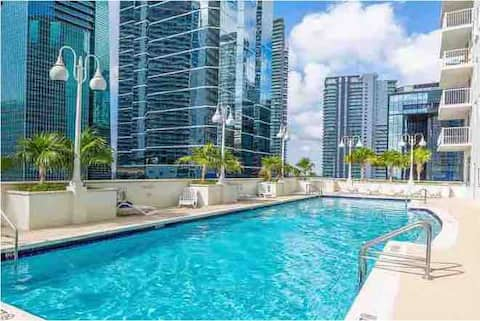 Amazing Studio in the heart of Brickell-Downtown