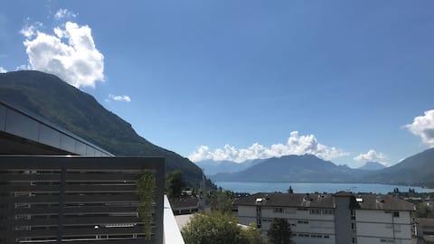 Studio Terrasse» Le Panorama « Vue sur le Lac