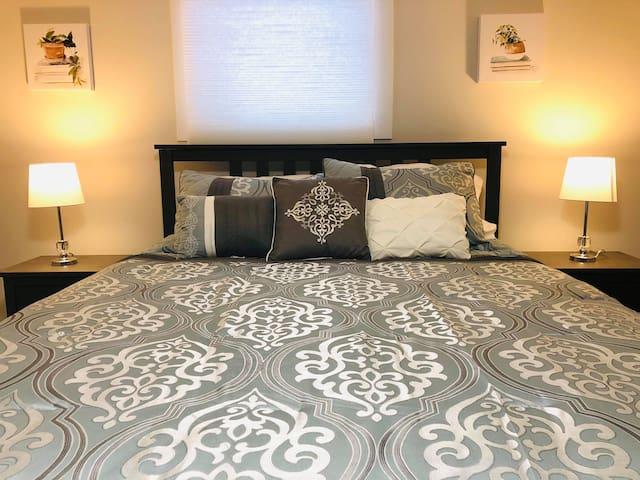Bedroom no 2 (Basement)