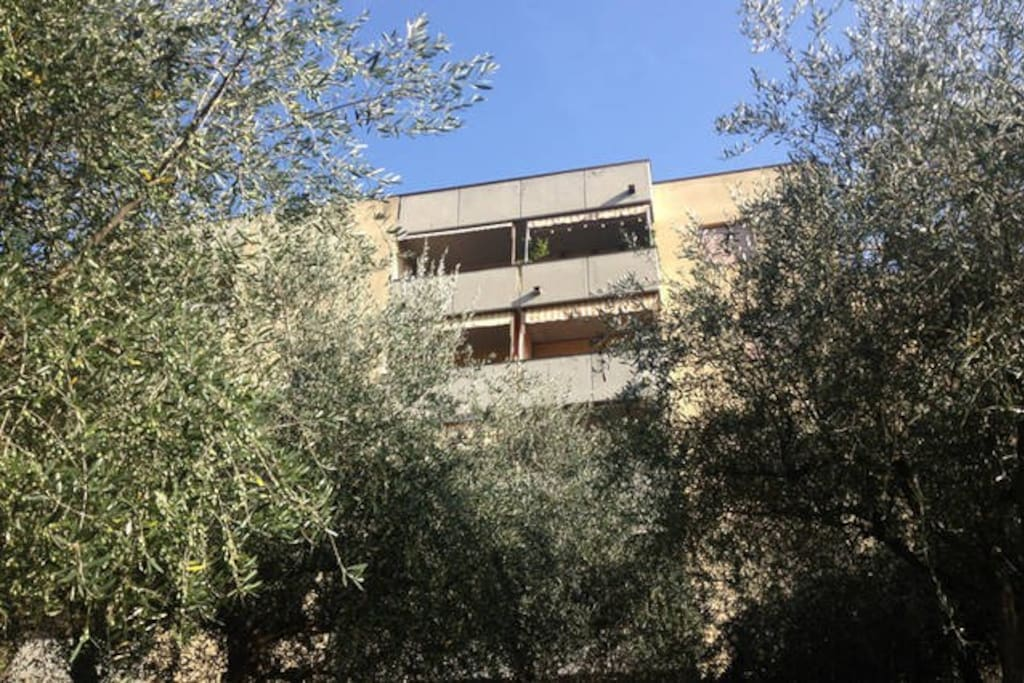 """... you find Casa Marisa in  a modern condo, called """"Residenza Ceula"""" ..."""