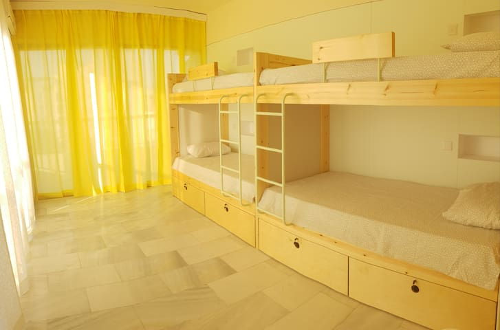 Bed in mixed dorm - NEX Hostel