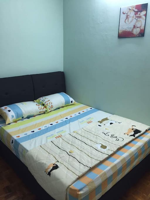 Extra single bed can be added in :)