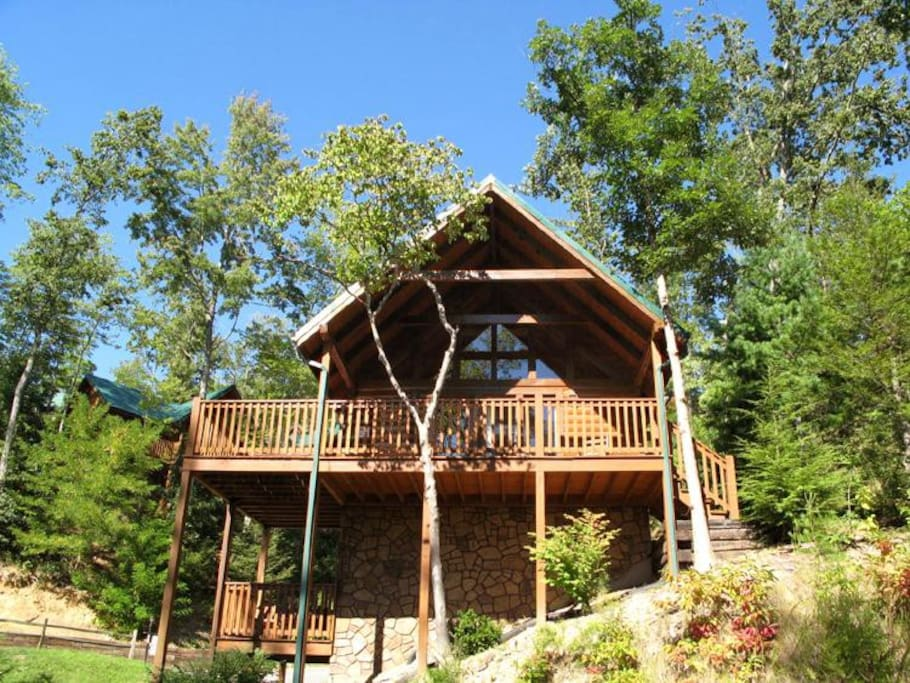 Welcome to Trail's End - Located in the popular and convenient Black Bear Falls community, this 2-bedroom cabin is just minutes f