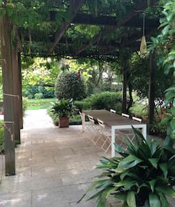 Open space inside wonderfull garden - Mirano