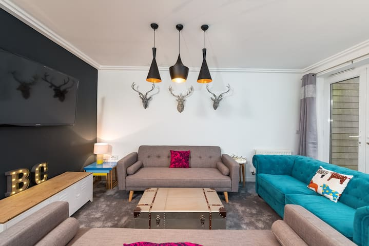 Brighton Boho Chic, HUGE, City Centre – Sleeps 15