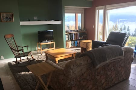Bright quiet rural private suite - Enderby - บ้าน