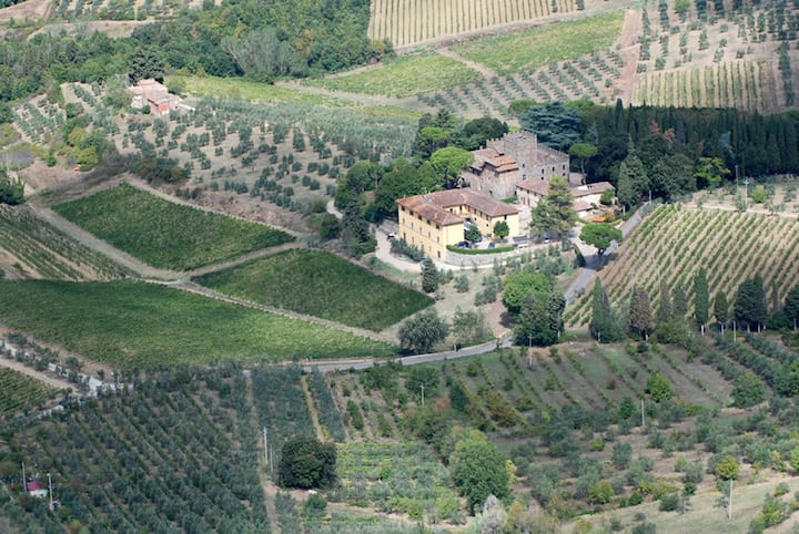 The Winery by Air