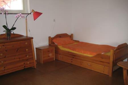 Ruhiges Zimmer mit Gartenaussicht - Apartment