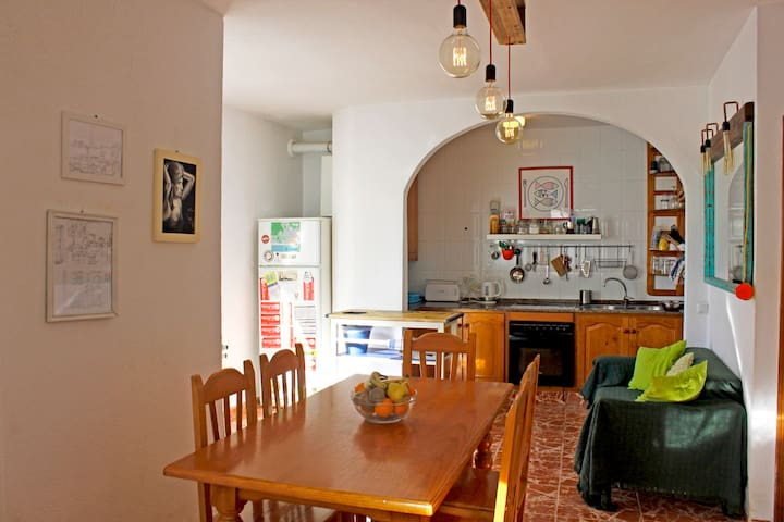 Double Room Sea View Share House in Tarifa