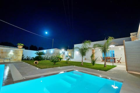 Villa Gargasole mit privatem Pool im Salento