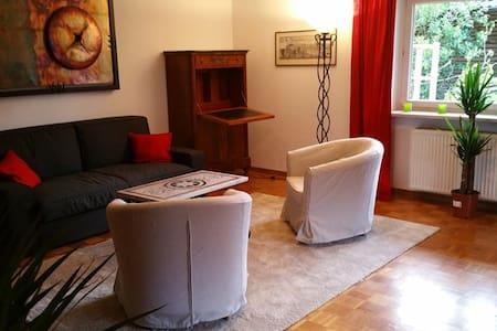90qm ruhige Wohnung bis 6 P., südlich v. München - Wolfratshausen - Apartmen