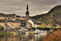 The Castle Town of Cochem only 9 kilometres from your Apartment