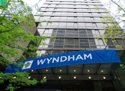 Wyndham 2 doubles hotel room - New York