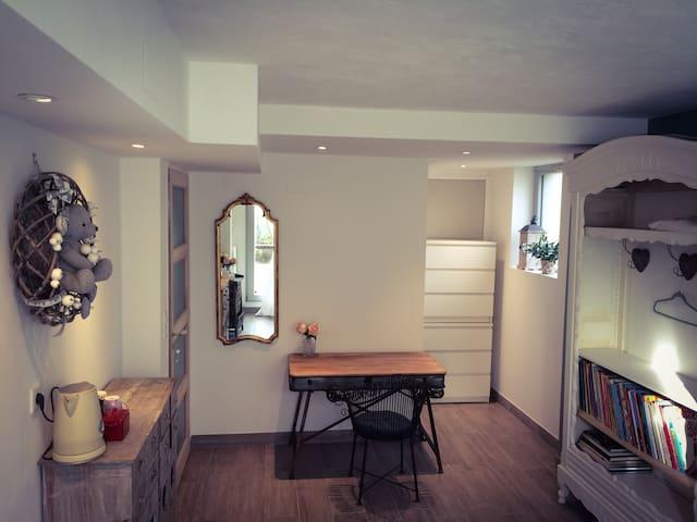 chambre & sdb privées, entrée jardin indépendante - สตราสบูร์ก - บ้าน