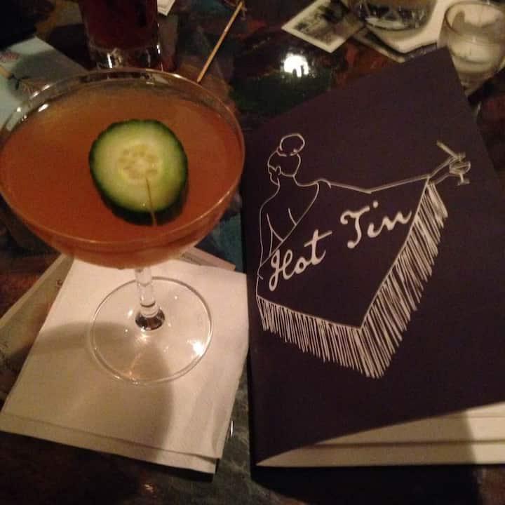 """Safari Expedition"" a signature cocktail"