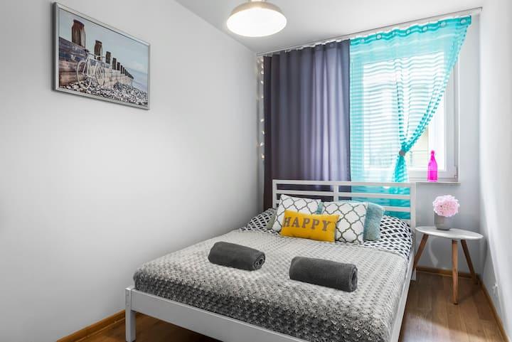 """Torwar Central Warsaw Apartment"" ClickTheFlat"