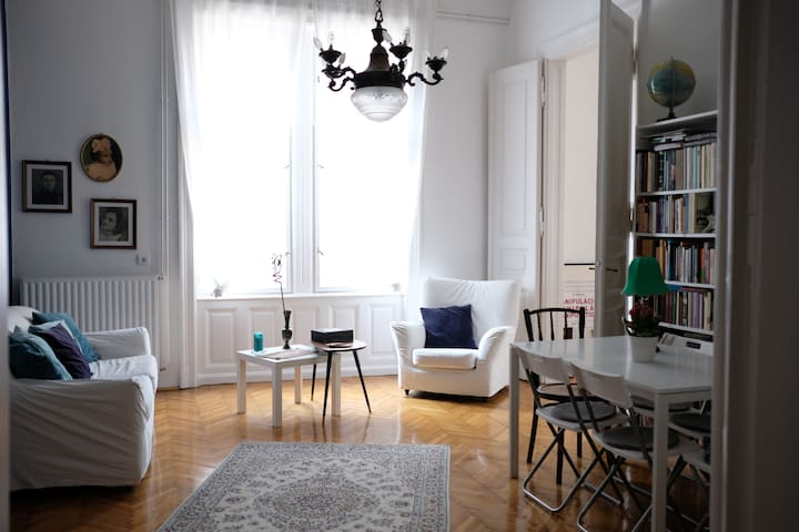 Sunny flat in downtown Budapest