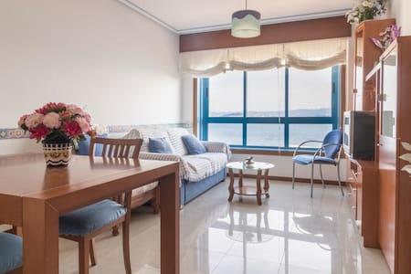 Precioso piso con vistas al mar cercano a Vigo