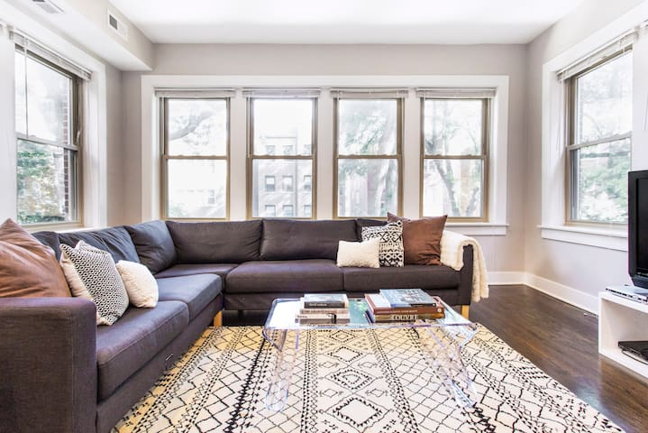 Charming, Spacious Apartment in Andersonville