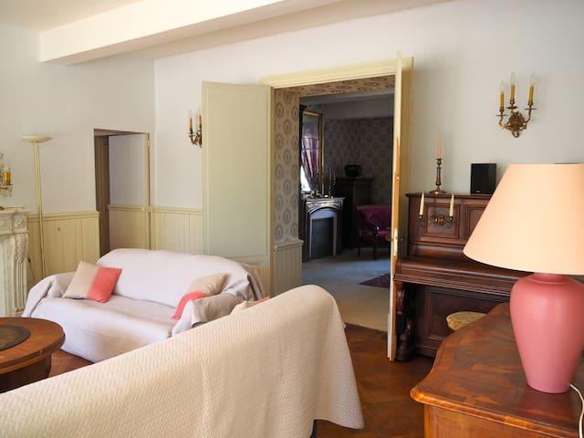 Belle maison de maître 14 pers près de Carcassonne - Arzens - Huis
