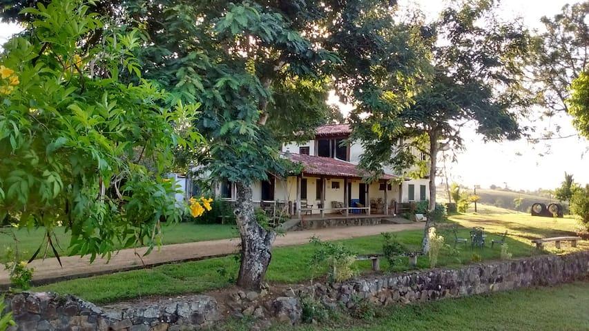 Fazenda Serra Alegre: Isolamento na Natureza