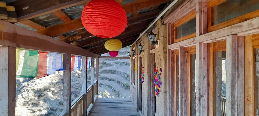 Cabin in the woods - A Himachal village initiative