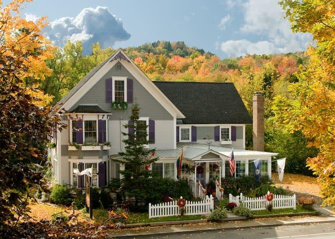 JAY PEAK: Free Breakfast - Green Mountain Suite @ Safe, Inspected, REAL B&B