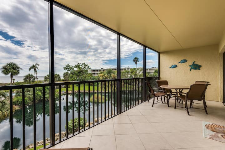 Sand Point 222, Gulf-View, 2 bedroom condo