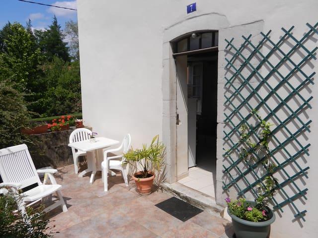 Appartement avec terrasse et jardin - Salies-de-Béarn - Apartamento