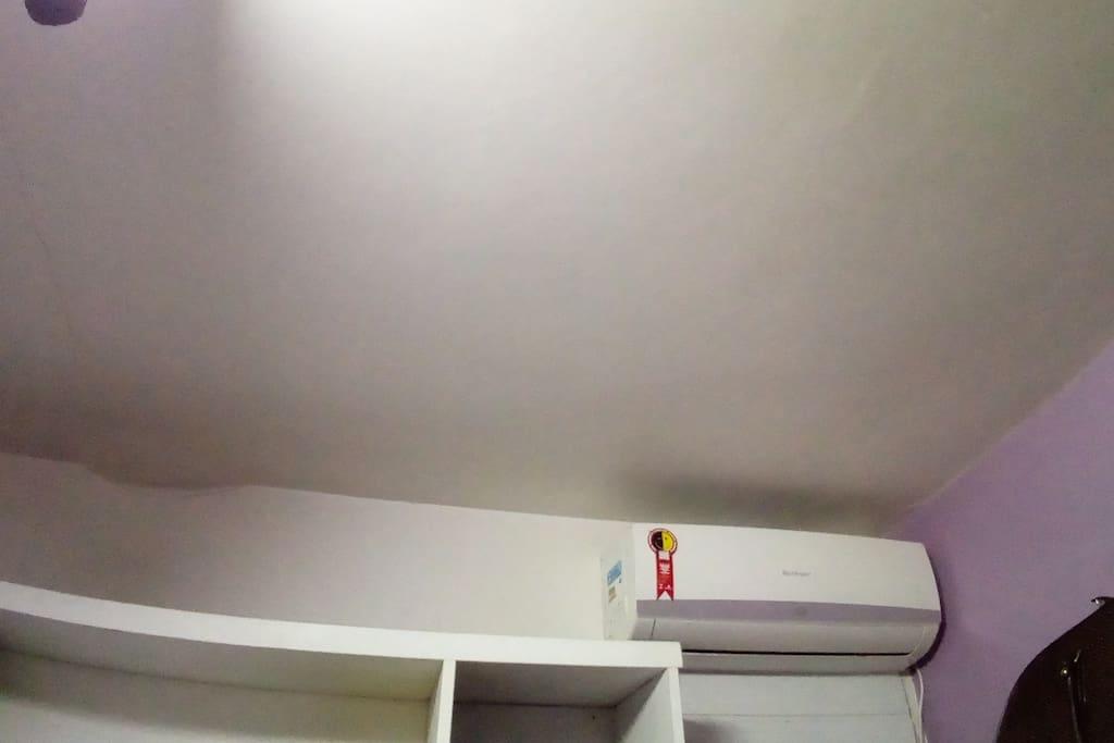 Condicionador de ar.