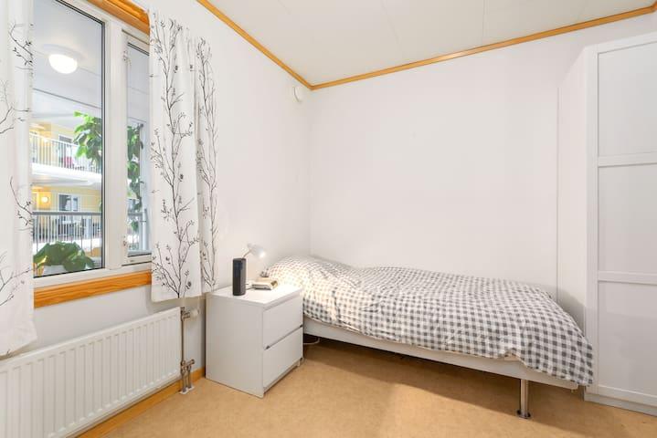 Enkelt rom for 1 person i sentrum av Trondheim.