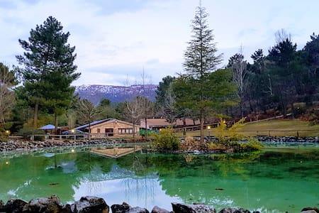 El Lagunazo. Parque Natural del Rio Mundo. Zafiro