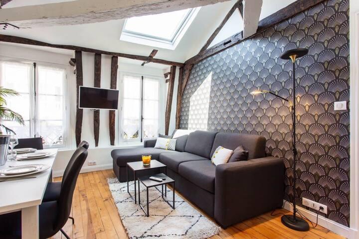 Charming apartment- 6P- Rex / Grands Boulevards