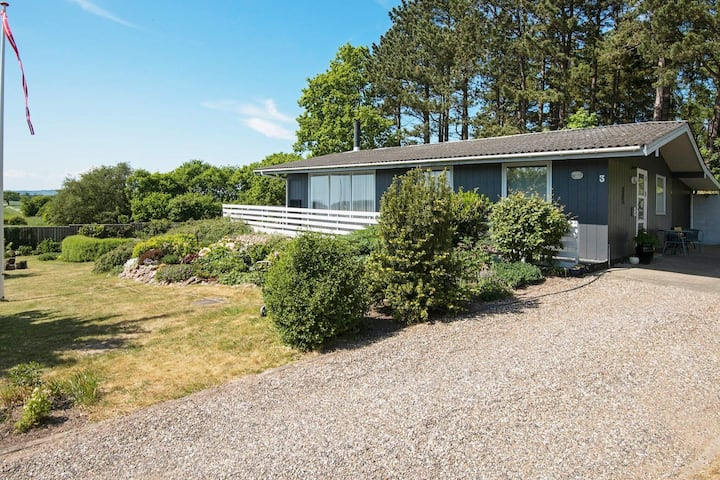Beautiful Holiday Home near Ebeltoft with Terrace