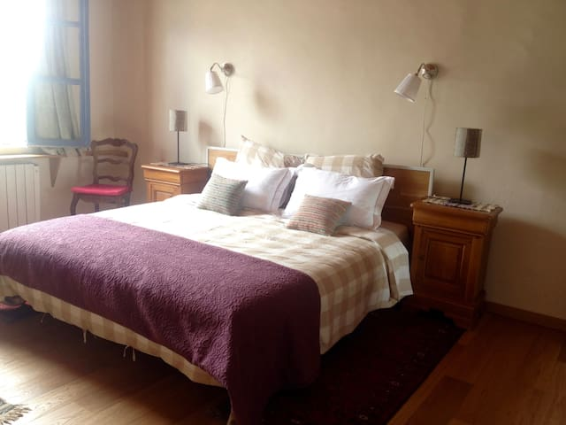 'Elelta' B&B in Najac, Room 1 - Najac - Bed & Breakfast