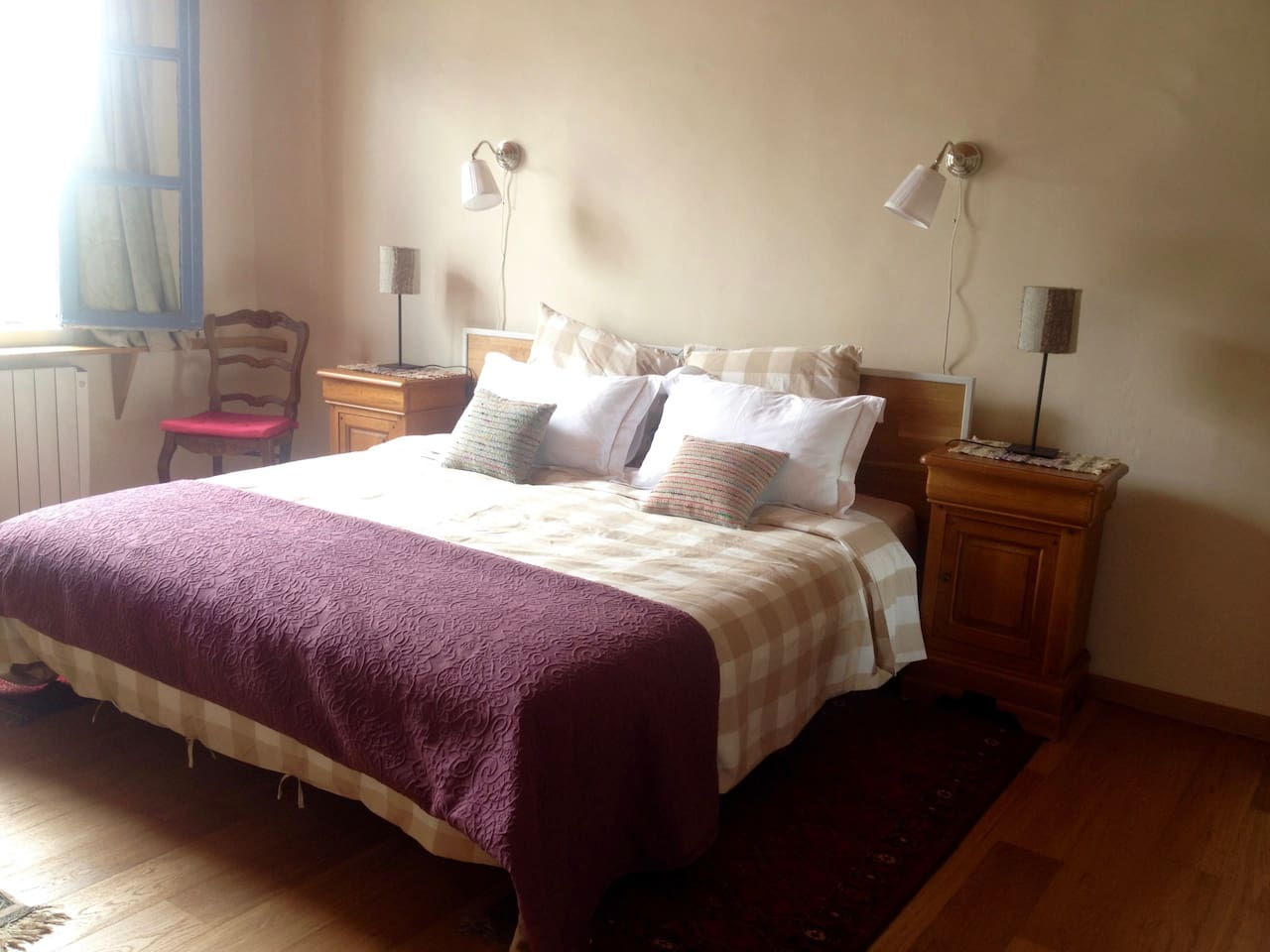 Bedroom 'Le Faubourg' with double bed