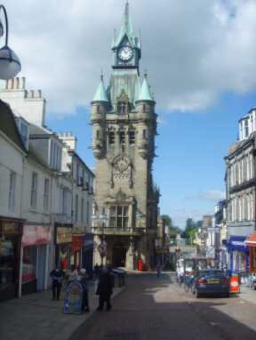 Dunfermline high street