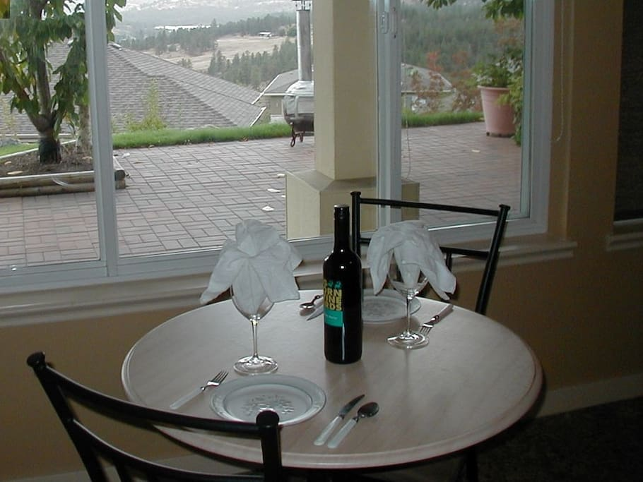 Enjoy The View In Dinning Area