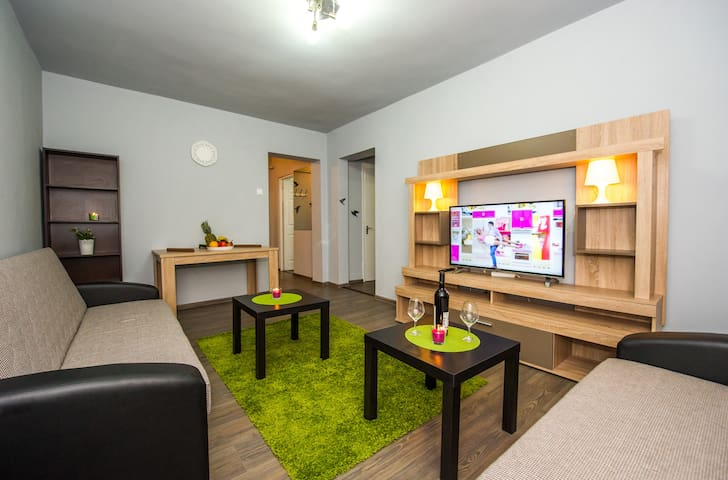 Cozy apartament wi fi , AC - Bucharest - Apartment