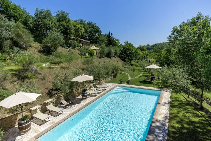 Apartment with one bedroom in Montepulciano, with shared pool and furnished terrace