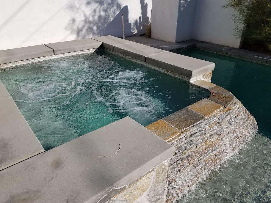 FREE heated spa