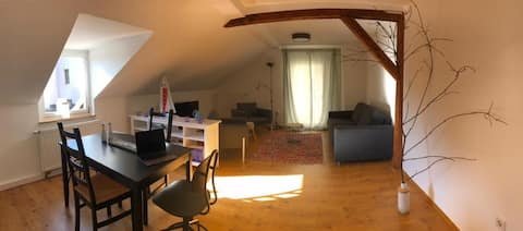 Aschaffenburg City - mod. Apartment Süd-Terrasse