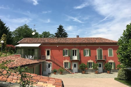 Beautiful Italian Villa with swimming pool - Asti - Villa