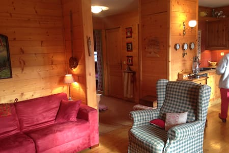 Un chalet de montagne en appartement - Villard-de-Lans - Byt